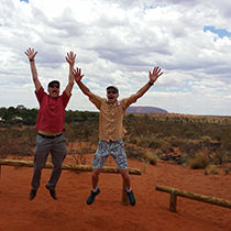 Preparing for the Ayers Rock